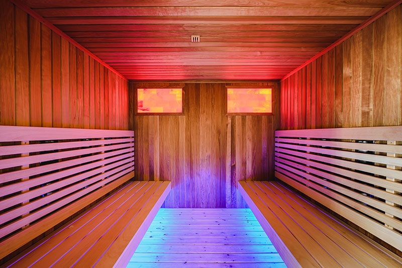 Thermal Zone hotel orbita infrared sauna 1