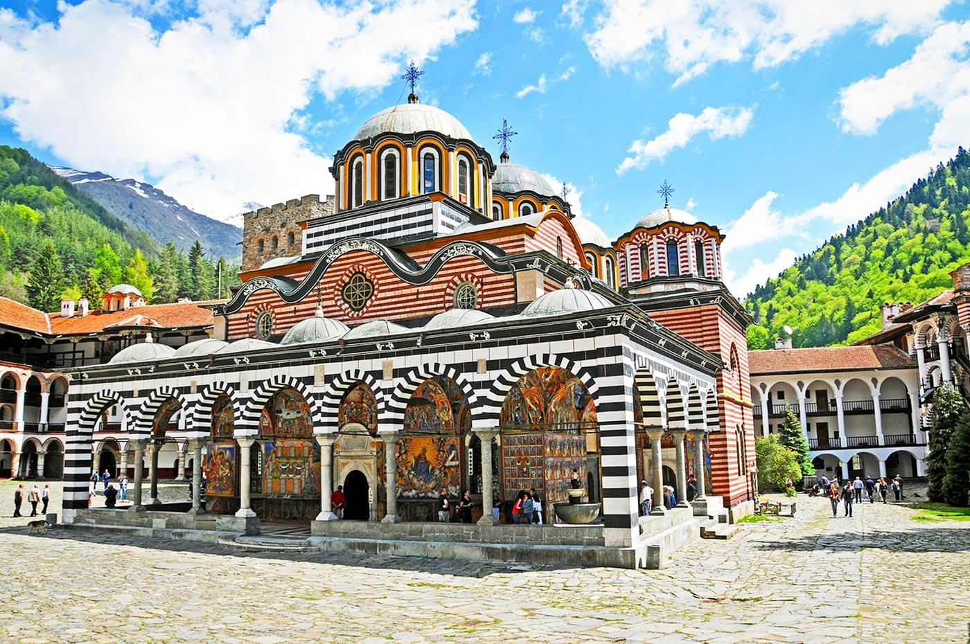 rilski manastir - izgled otvan