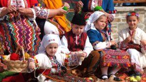 Фолклорът в планинските райони в Югозападна България detsa