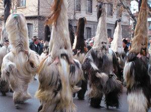 Фолклорът в планинските райони в Югозападна България kukeri