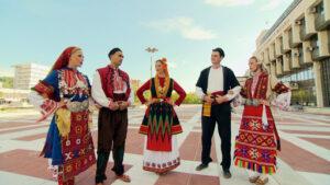 Фолклорът в планинските райони в Югозападна България nosii